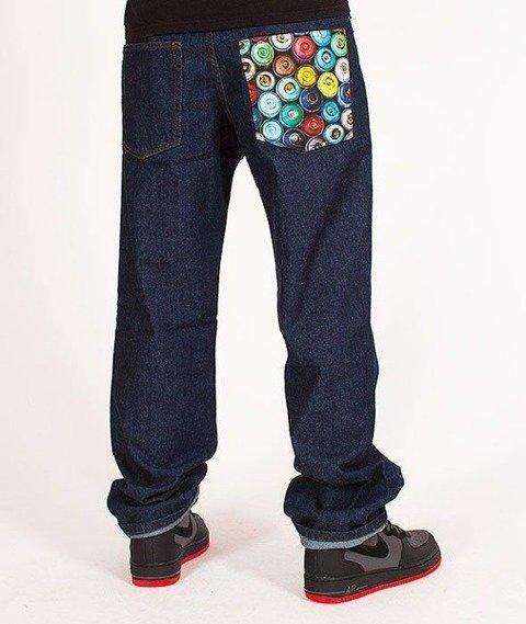 SmokeStory-Cans Regular Jeans Dark Blue