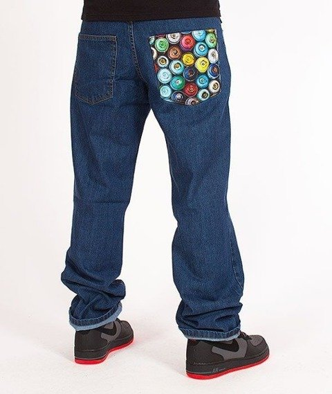 SmokeStory-Cans Regular Jeans Medium Blue