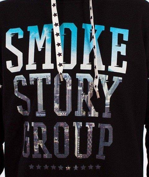 SmokeStory-City Photo Bluza Kaptur Czarna