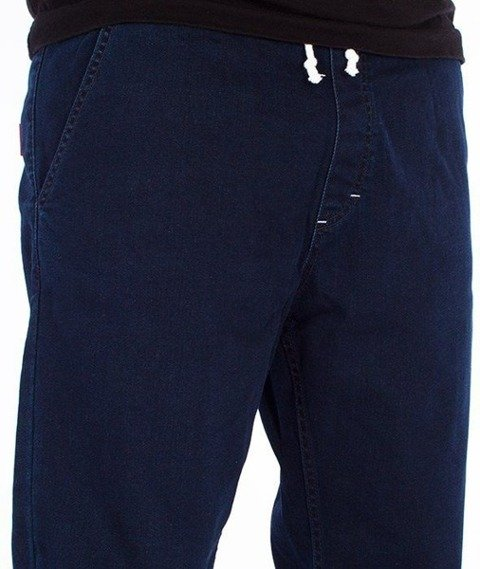 SmokeStory-Jogger Slim Jeans Spodnie Medium Blue