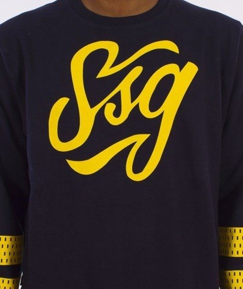 SmokeStory-SSG Tag Bluza Granatowa