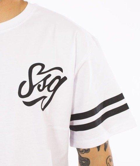 SmokeStory-Small Tag T-Shirt Biały