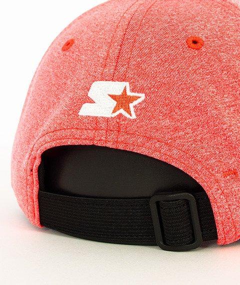 Starter-Tech Jersey Pitcher Czapka z Daszkiem Czerwona