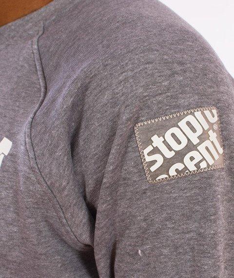 Stoprocent-Chce Bluza Szara