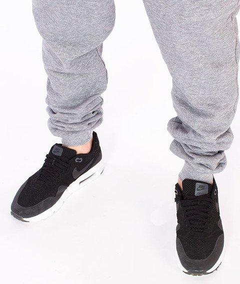 Stoprocent-Cowboy Pocketag Spodnie Dresowe Szare