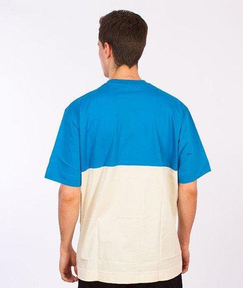 Stoprocent-Gryf16 T-Shirt Niebieski/Beżowy