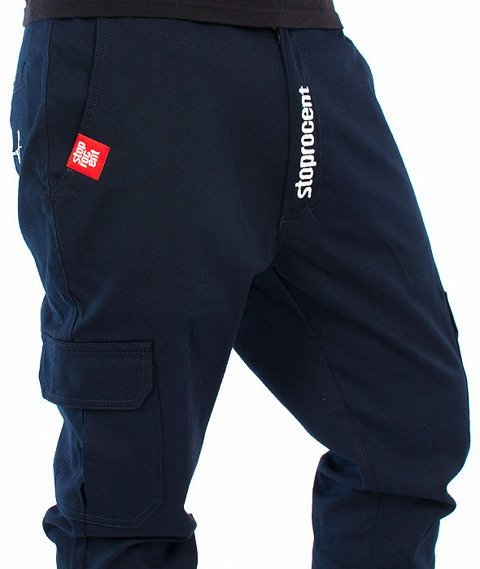 Stoprocent-SJ Army Jogger Navy Blue