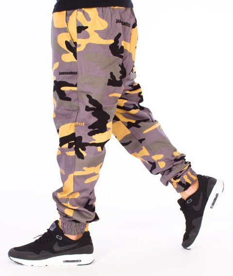 Stoprocent-SJ Jogger Classic17 Spodnie Moro Green