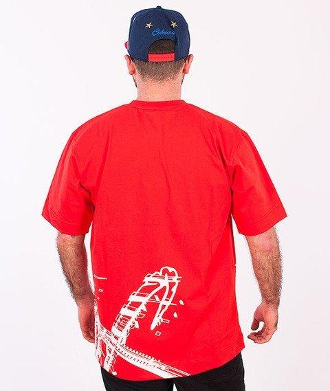 Stoprocent-Seultag T-shirt Czerwony
