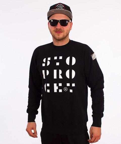 Stoprocent-Stencil Bluza Czarna
