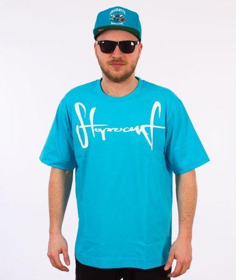 Stoprocent-Tag17 T-shirt Niebieski