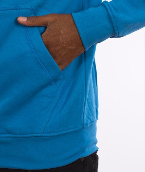 Stoprocent-Tagzip16 Bluza Kaptur Rozpinana Niebieska