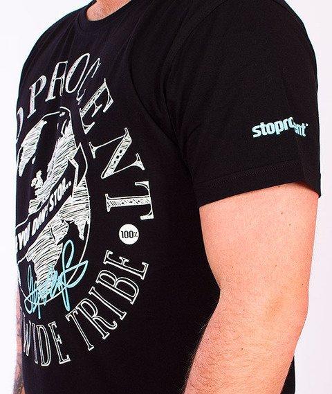 Stoprocent-Tribe T-Shirt Black