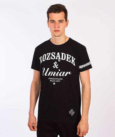 Stoprocent-Umiar T-Shirt Czarny