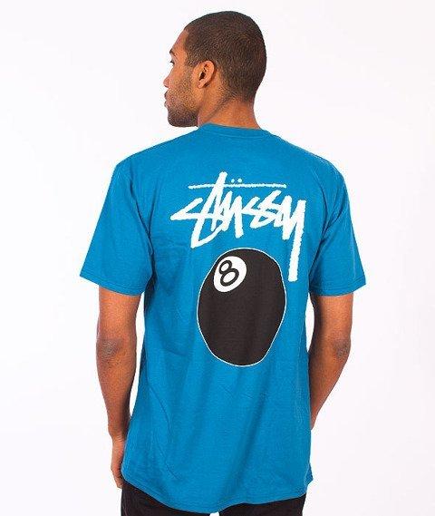 Stussy-8 Ball T-Shirt Blue