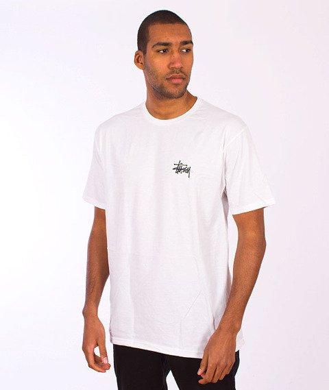 Stussy-Basic Logo T-Shirt White