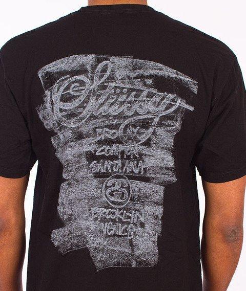 Stussy-Carbon WT Tee Black