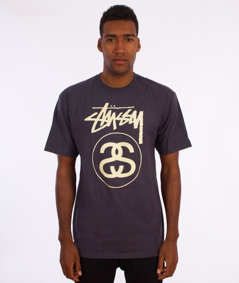 Stussy-Stock Link T-Shirt Midnight