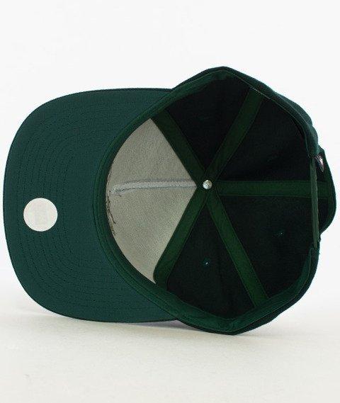 Stussy-Stock Lock Fa16 Snapback Ciemno-zielony