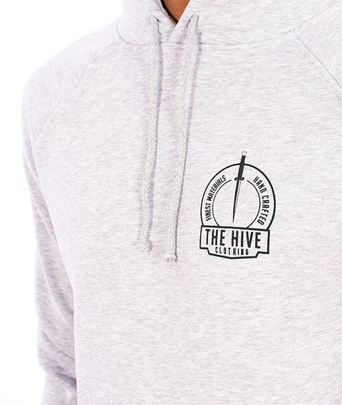 The Hive-Coven Hoodie Heather Grey
