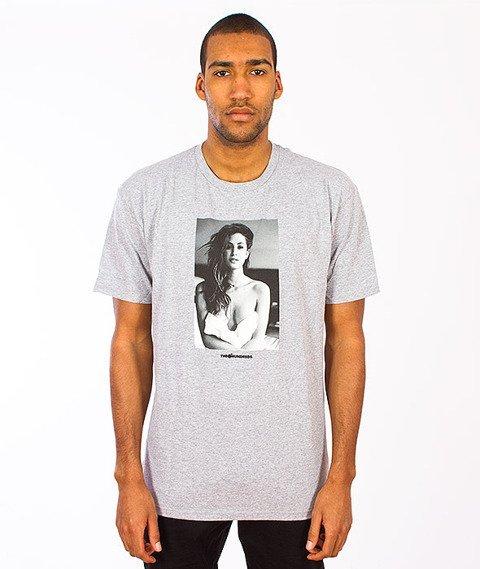 The Hundreds-Gigi T-Shirt Athletic Grey