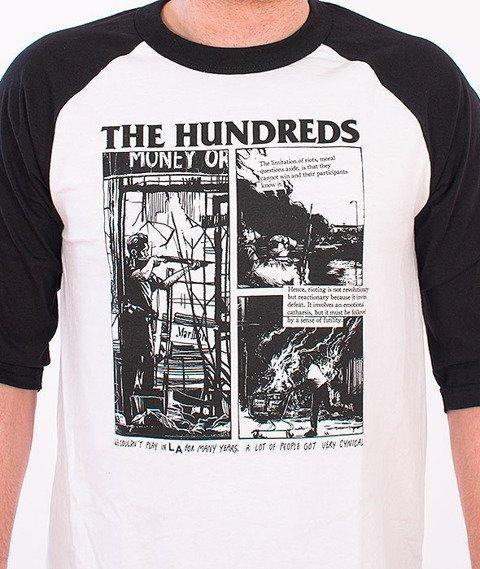 The-Hundreds-Riot Raglan White/Black