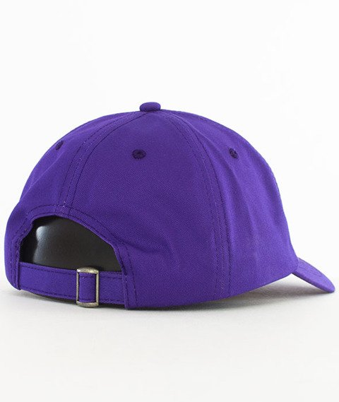Thrasher-Flame Old Timer Snapback Purple