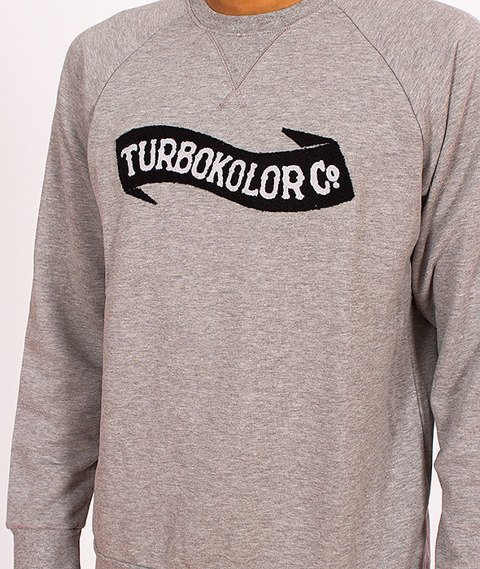 Turbokolor-Crewneck Grey SS16