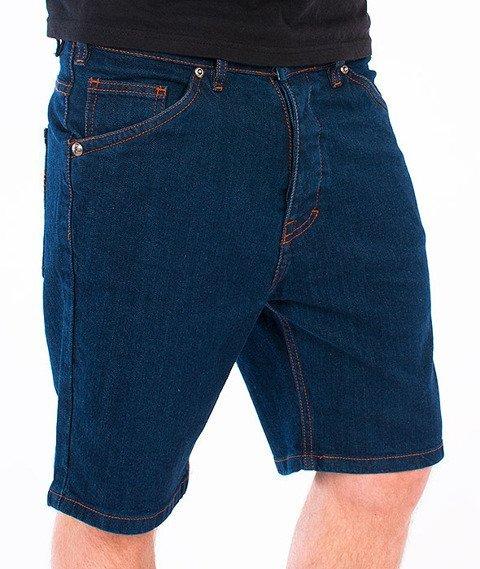 Turbokolor-Denim Shorts Navy SS16