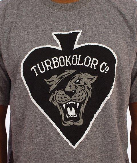 Turbokolor-Spades T-Shirt Szary