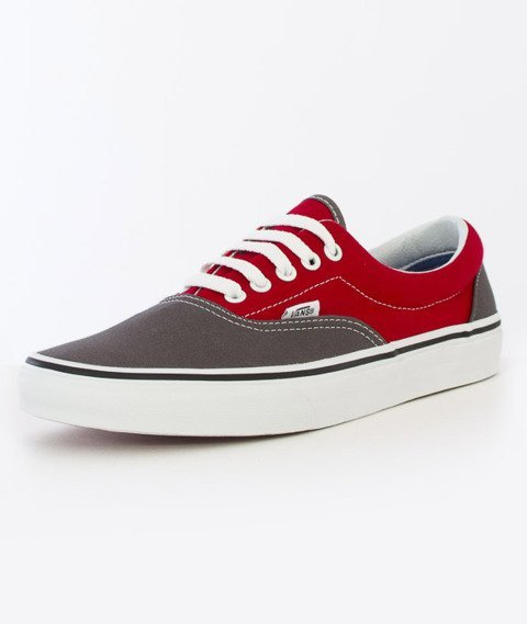 Vans-Era (2 Tone) Pewter/Racing Red