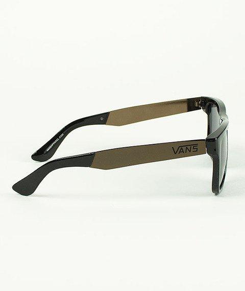 Vans-Squared Off Sunglasses Black/Gold