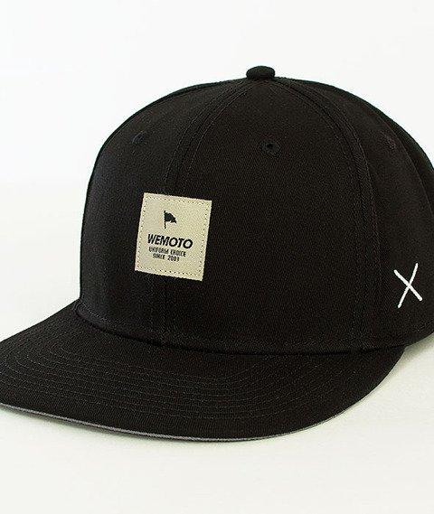 Wemoto-Flag Snapback Black