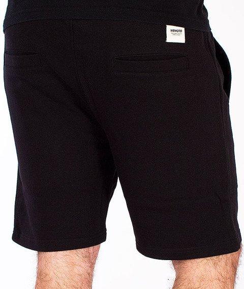Wemoto-Levin Shorts Black Melange