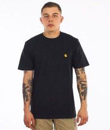Carhartt-Chase T-Shirt Black/Gold