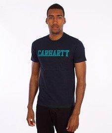 Carhartt-College T-Shirt Navy/Severn