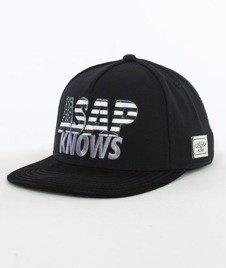 Cayler & Sons-Asap Knows Cap Snapback Black/White/Grey