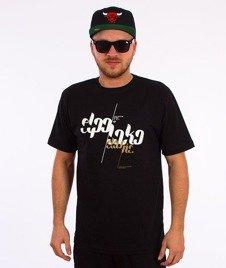 El Polako-Font T-Shirt Czarny
