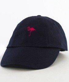 Hype-Flamingo Dad Hat Czapka Z Daszkiem Navy
