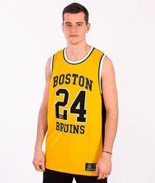 Majestic-Boston Briuns Tank-Top Yellow