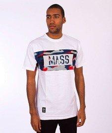 Mass-Battle T-shirt Biały