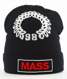 Mass-Conversion Beanie Czapka Zimowa Black
