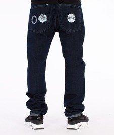 Mass-Mind Tapered Fit Jeans Spodnie Dark Blue