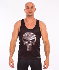 Poundout-Hate Tank Top Czarny