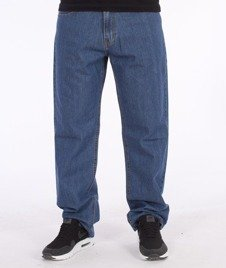 SmokeStory-Dark City Pocket Regular Jeans Light Blue