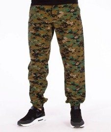 SmokeStory-Moro Jogger Regular Fa16 Spodnie Leśny Pixel
