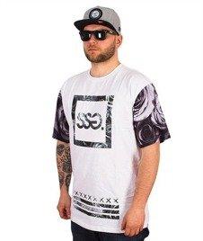 SmokeStory-Rose 08 T-Shirt Biały