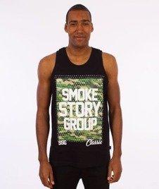 SmokeStory-Smog Moro Dots Tank Top Czarny