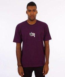 Stussy-Prism Logo T-Shirt Grape