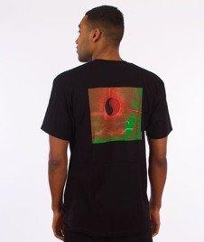 Stussy-Yin Yang Sun T-Shirt Black